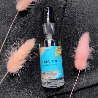 Масло для волос! Натуральное масло для кончиков волос!