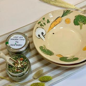 Супница для золотистого бульона