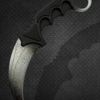 Нож деревянный КС ГО Керамбит Ванилла (CS GO Karambit Vanilla)