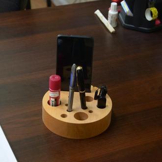 Органайзеры деревянные офисные
