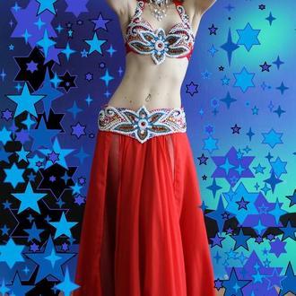 костюм для східних танців, танцю живота, bellydance