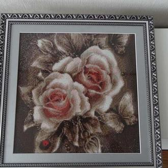 Картина в техніці алмазної мозаїки