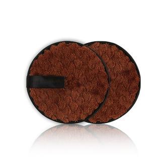Многоразовый двухсторонний спонж для удаления без использования средств, коричневый