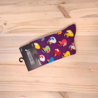 Носки с принтом «Цветные утки» Push IT