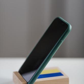Деревянная  Подставка Для Телефона Планшета