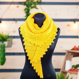 Бактус крупной вязки желтый