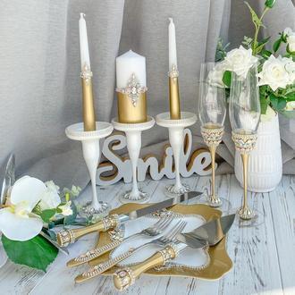 Свадебный набор «Золотой шик»