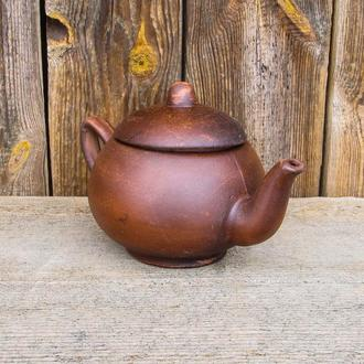 Чайник 0,3 л. з червоної глини