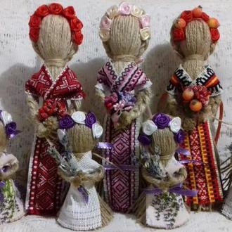 """Кукла-мотанка """"Берегиня"""", рост 10, 15-26 см. Оберег в дом. Подарок."""