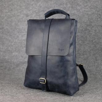 Женский рюкзак-трансформер |11984| Синий