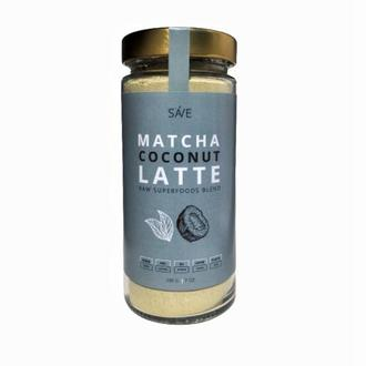 MATCHA COCONUT LATTE | raw смесь суперфудов, 200 g