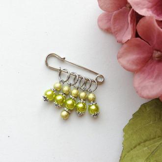 Маркери для в'язання Olive pearl