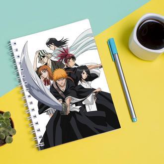 """Скетчбук (Sketchbook) для рисования с принтом """"Bleach-Блич"""""""