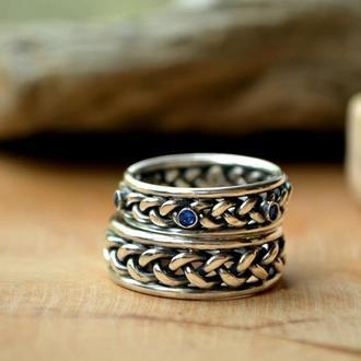 Обручальные кольца Цветущие Косы Викингов