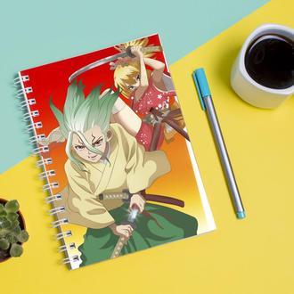 """Скетчбук (Sketchbook) для рисования с принтом """"Dr 1"""""""