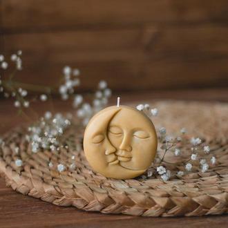 Sun & Moon | Свічка із бджолиного воску