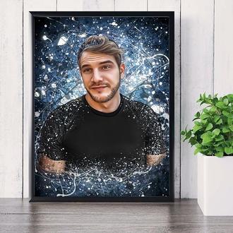 Картина по вашему фото дрим арт dream art