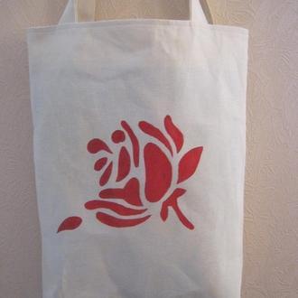 Текстильная  сумка, торба