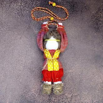 Лялька мотанка чоловічий оберіг на радість і зустріч