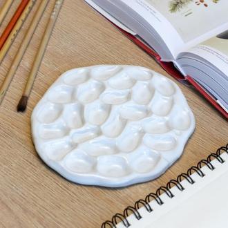 Керамическая палитра для акварельной живописи