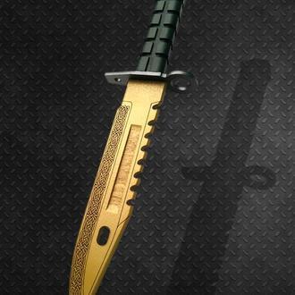 Нож деревянный КС ГО М9 Штык-нож Легенда CS GO M9 Bayonet Lore