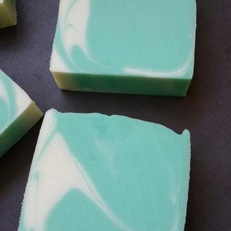 Натуральное мыло с нуля.  Кокетка  ( шелковое )