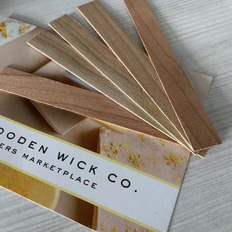 Деревянные фитили для свечей, производитель woodenwick
