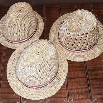 Шляпа Федора летняя