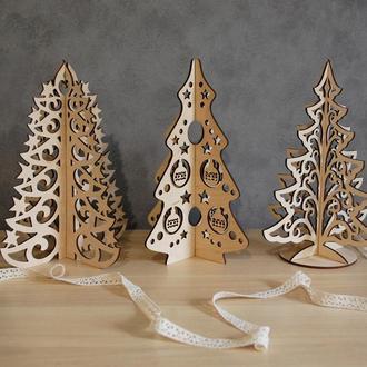 Набор 3D елок для декорирования дома