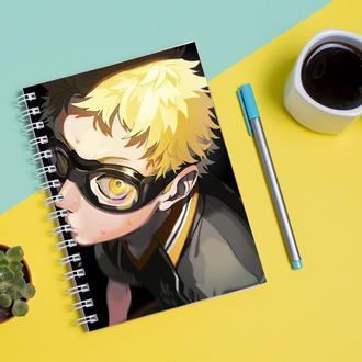 Скетчбук Sketchbook для рисования с принтом Haikyu - Волейбол 8