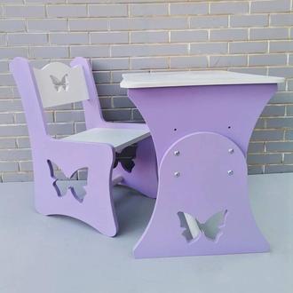 """Комплект стол и стул """"бабочка"""""""