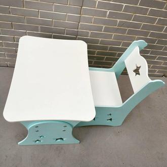 """Комплект стол и стул """"Звёзды"""""""