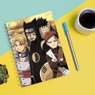 Скетчбук Sketchbook для рисования с принтом Naruto Наруто 5