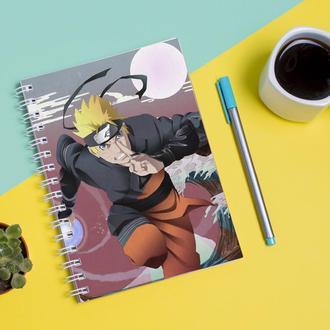 Скетчбук Sketchbook для рисования с принтом Naruto Наруто 19