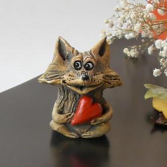 Лиса фигурка в виде лисички