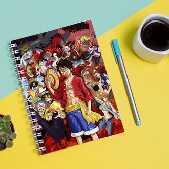 Скетчбук Sketchbook для рисования с принтом One Piece