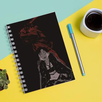 Скетчбук Sketchbook для рисования с принтом Stalker-Сталкер