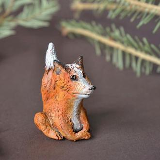 Лиса фигурка в виде лисы