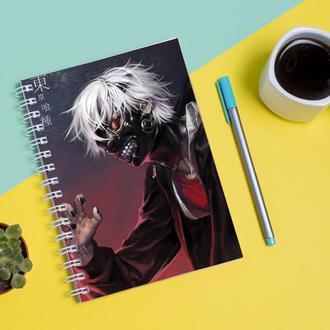 Скетчбук Sketchbook для рисования с принтом Tokyo Ghoul - Токийский гуль 14