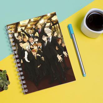 Скетчбук Sketchbook для рисования с принтом Yuri on Ice - Юри на льду 8