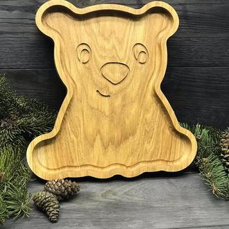 Деревянная тарелка «Умка»