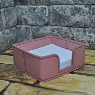 Лоток из кожи для бумаг L01-pudra
