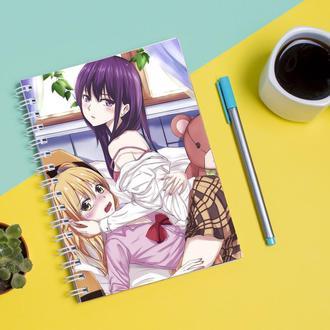 Скетчбук Sketchbook для рисования с принтом Аниме Цитрус, Citrus 1