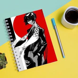 Скетчбук Sketchbook для рисования с принтом Великий из бродячих псов Зверь