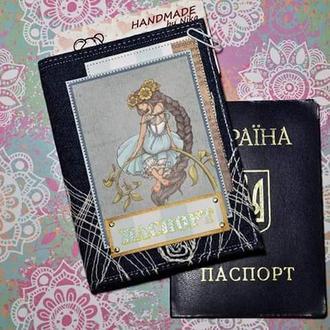 """Обложка для паспорта """"Фея"""""""