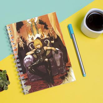 Скетчбук Sketchbook для рисования с принтом Картина GeekLand Death Note Тетрадь смерти мэлло