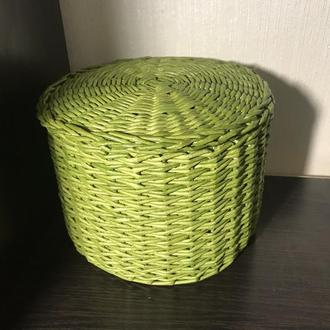 Круглая коробка для мелочей