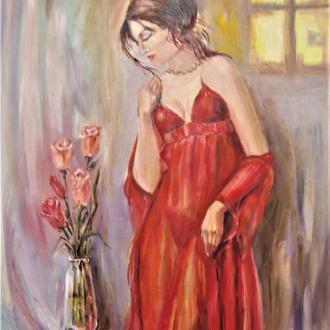 Картина Ранкові троянди