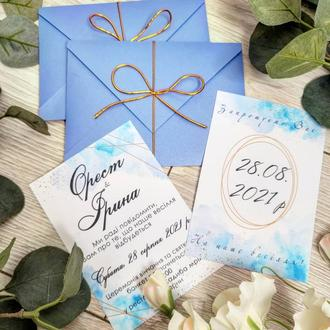 Пригласительные на свадьбу запрошення на весілля
