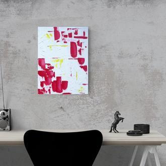 Абстракція, картина олійними фарбами